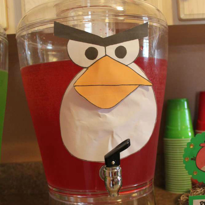 angry birds punch