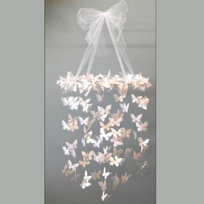 cascading butterflies mobile