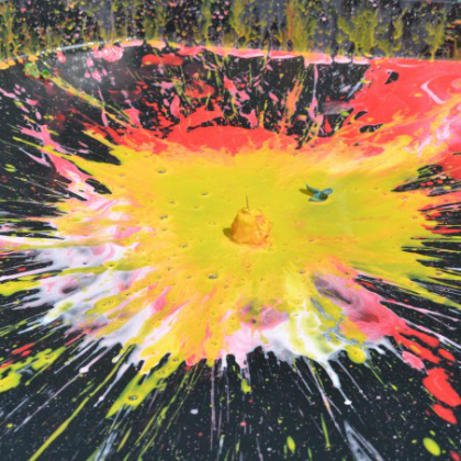 exploding paint balloons