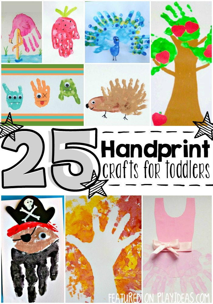 handprint crafts for toddlers