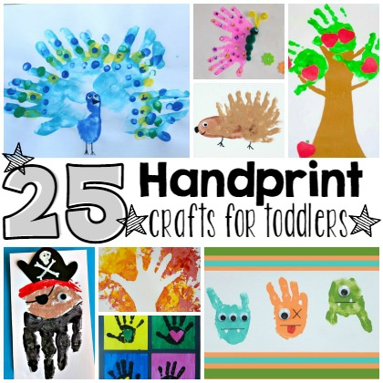 25 Precious Handprint Crafts For Toddlers