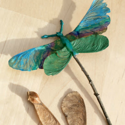 magical dragon fly