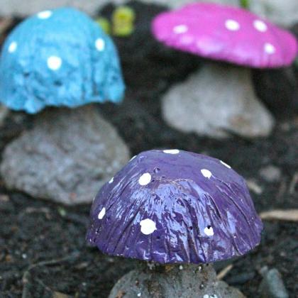 magical toadstools