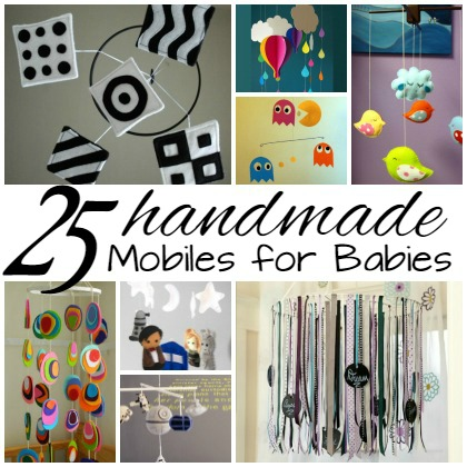 25 Homemade Mobiles for Babies