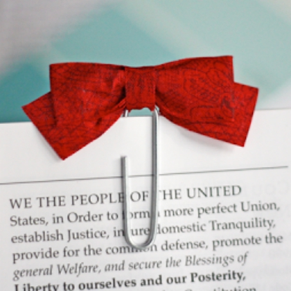 bow bookmark