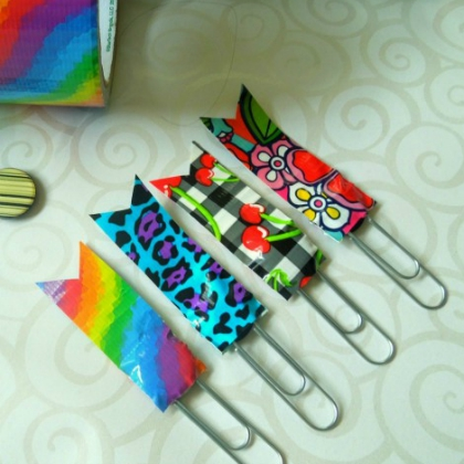 duct tape paper clips