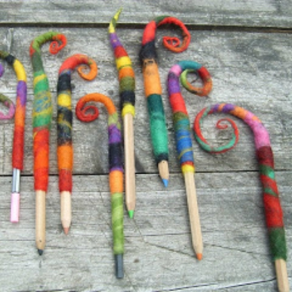 felted toppers