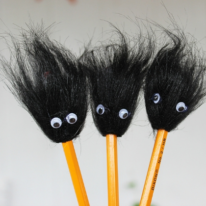 fuzzy head toppers