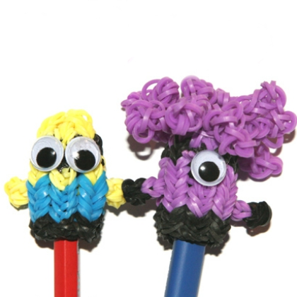 minion loom toppers