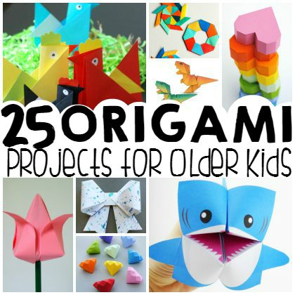25 Easy Origami Ideas for Bigger Kids