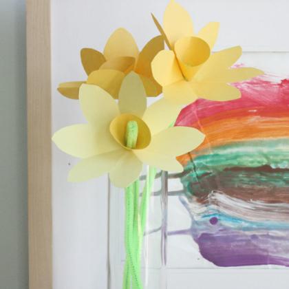 paper daffodils