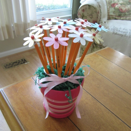 pencil bouquet for teacher