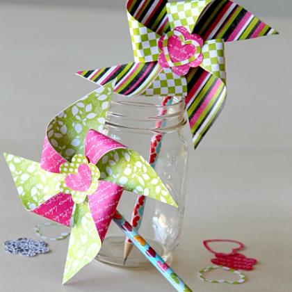 pinwheel toppers
