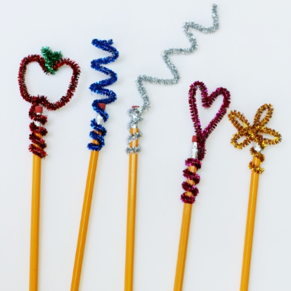 pipe cleaner toppers