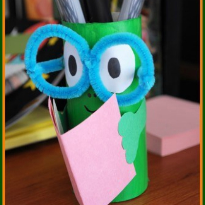 reading pencil holder