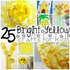 yellow crafts for kids