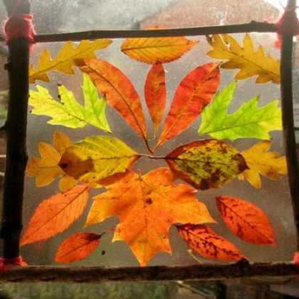 Leaves Crafts For Preschoolers Crafting
