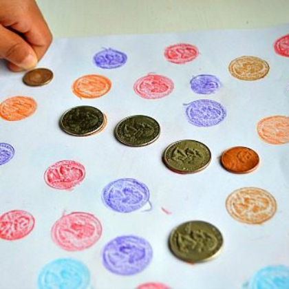 coin rubbing and matching