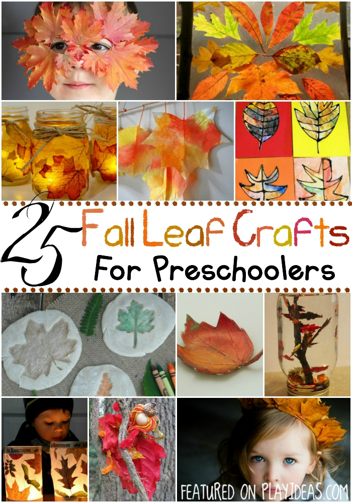fall leaf crafts for preschoolers