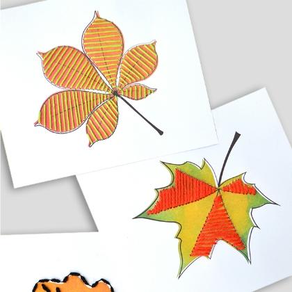 leaf sewing
