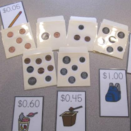 money sorting envelopes