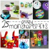 25 Crazy Monster Crafts for Kids
