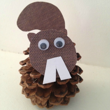 nut job pinecone