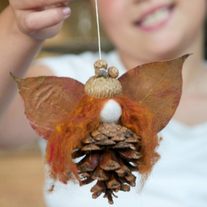 pinecone fairy