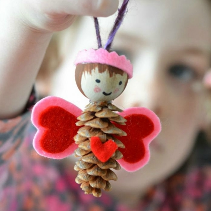 pinecone love fairy