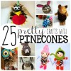 25 Pretty Pinecone Crafts for Preschoolers