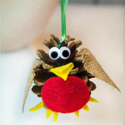 pinecone robin