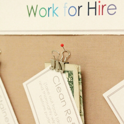 work for hire chore system