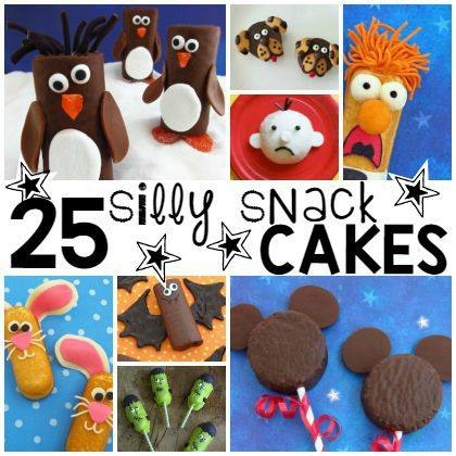 silly snack cakes