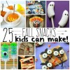 Fall Snacks Kids Can Make