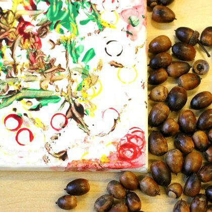 Acorn Process Art (Fun-a-Day)