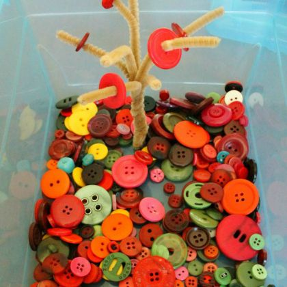 Fall Button Tree (Hands on as We Grow)