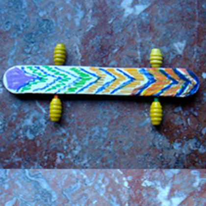 25 sports themed crafts for kids diy skate board solutioingenieria Gallery
