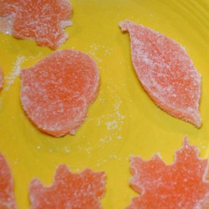 fall leaf gummies