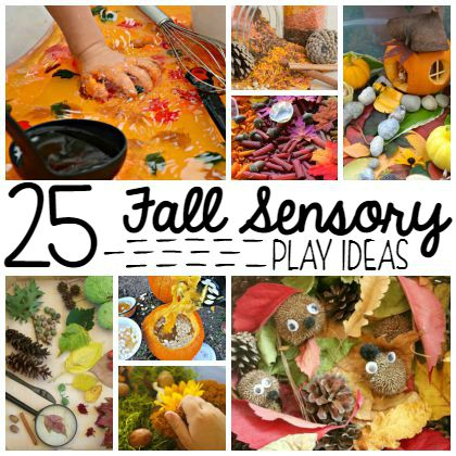 25 Fall Sensory Bin Play Ideas