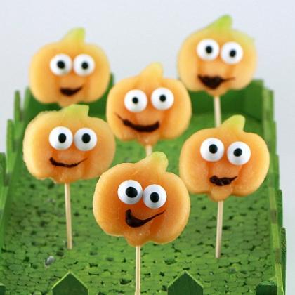 happy fruit pumpkins