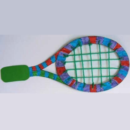 tennis racket craft