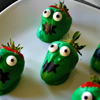zombie strawberries