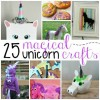 25 Magical Unicorn Crafts for Kids