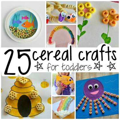 25 Cereal Crafts For Toddlers