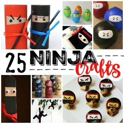 Ninja crafts for kids