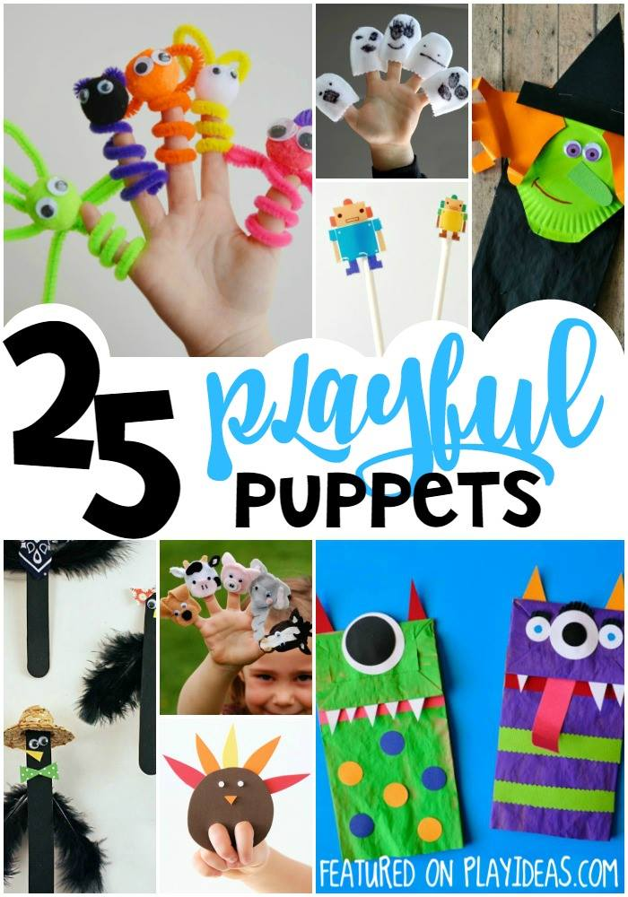 These 25 Playful Puppet Crafts for Kids will give them plenty of stories to tell and be so much fun to make together! Click now!