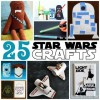 25 Out of This World Star Wars Crafts for Kids