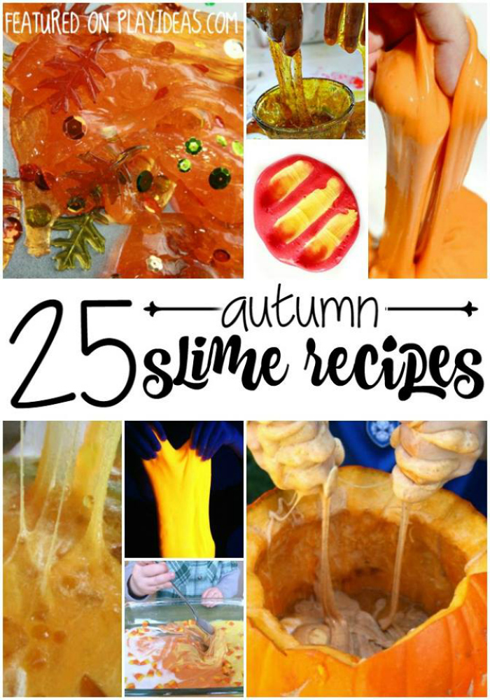 25 Autumn Slime Recipes