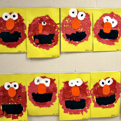 Elmo faces