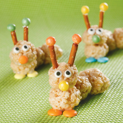 caterpillar krispies